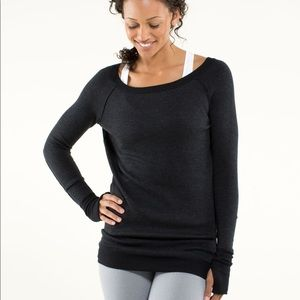 Lululemon Chai Time ii Reversible Sweater Size 4